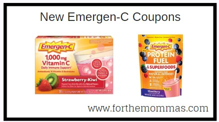 New Printable Emergen C Coupons Save Up To 4 00 Ftm