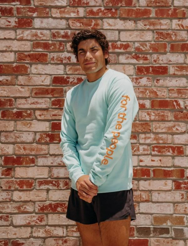 ftp.Unisex Ideal Heavyweight Long Sleeve, mint