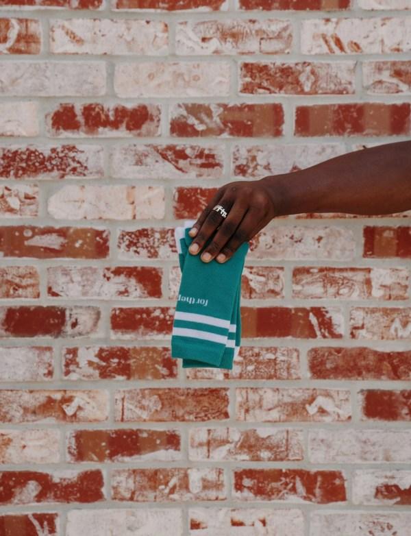 ftp. tall crew sock, green