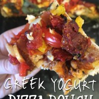 3 Ingredient Greek Yogurt Pizza Dough