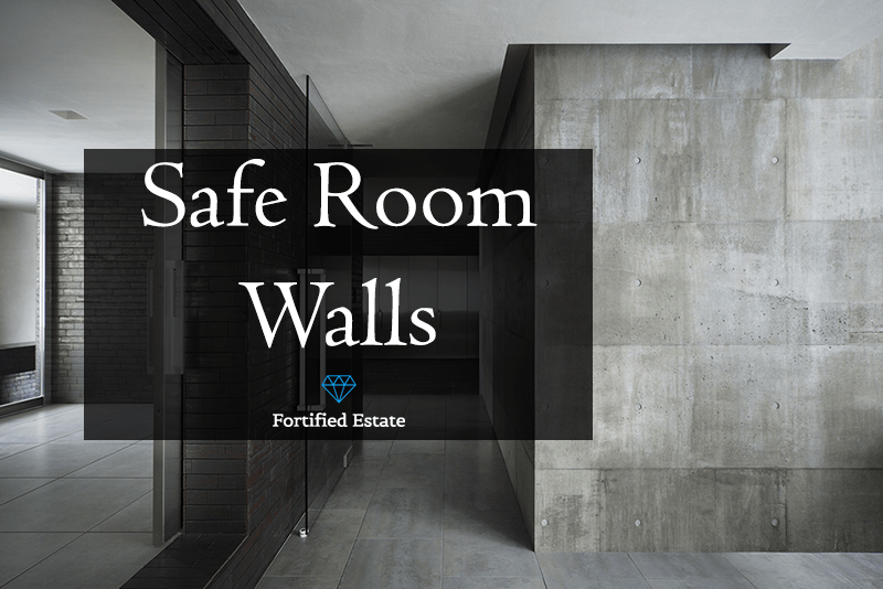 Safe Room Walls and Wall Panels - Fortified Estate