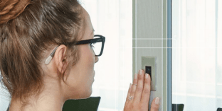 Panic room biometric lock