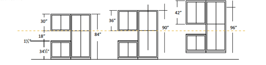 height of wall cabinets above counter | memsaheb.net