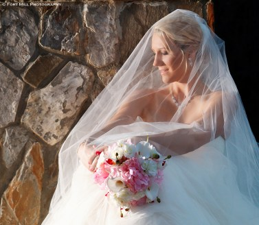 Winter Bridal with Dramatic Lighting