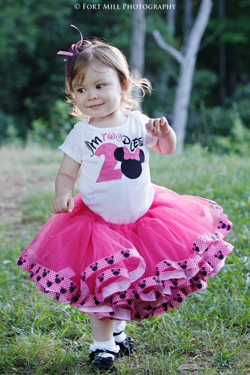 Toddler in Pink Tutu