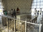 Interior of the Mausoleum of Ali Jinnah.