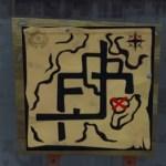 プレザント・パークにある宝の地図