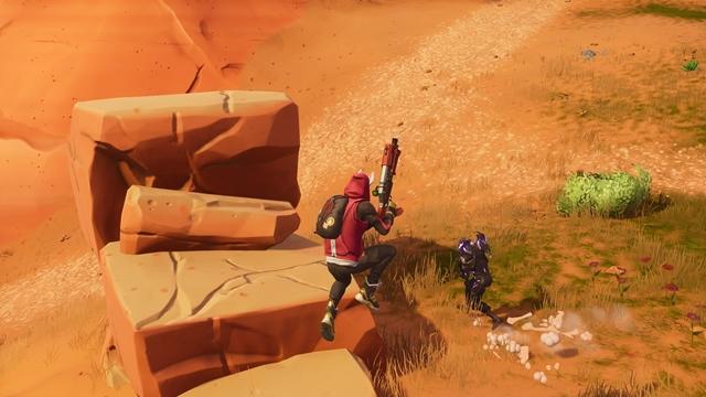 ジャンプ移動で敵の足音も聞こえる