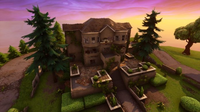 Hero Mansion decay Fortnite