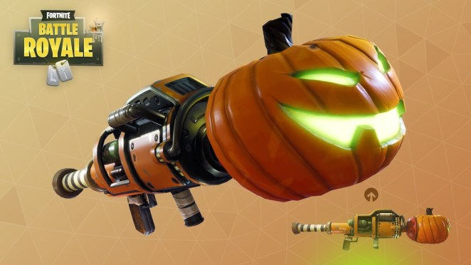 Pumpkin Rocket Launcher
