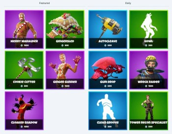 Fortnite Item Shop December 31 January 1 What S New Today