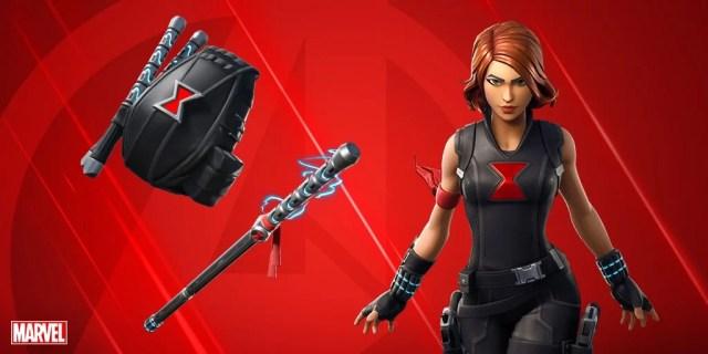Fortnite Avengers Skin Black Widow