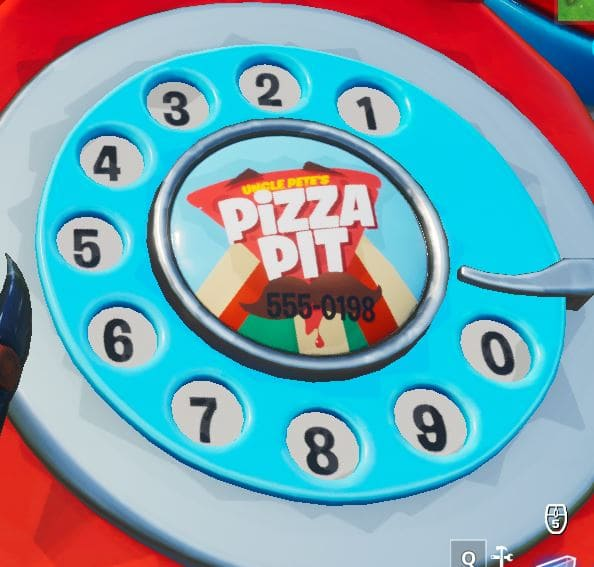 dial the pizza pit number east of the block