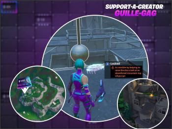 Fortnite Season 9 Fortbyte #53: Accessible By Helping To