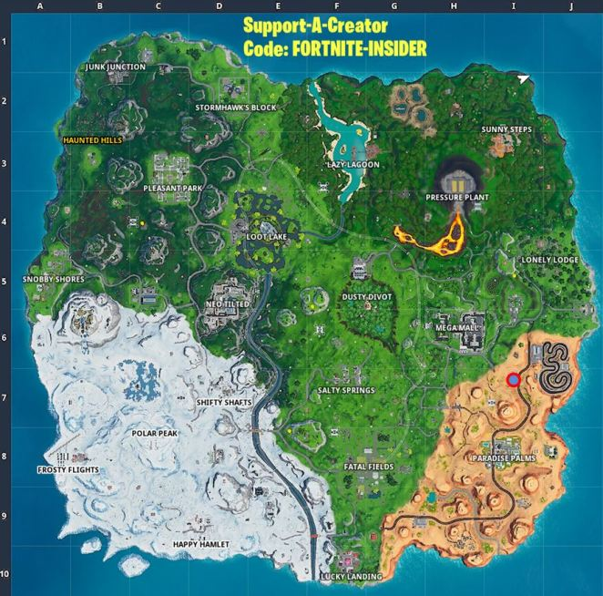 Week 3 hidden secret battle star location The Leftovers loading screen
