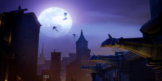 Fortnite Season 10 Week 8 Gothic Limited Time Mission Loading Screen