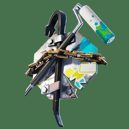 Fortnite v10.30 Leaked Back Bling - Pry Pack