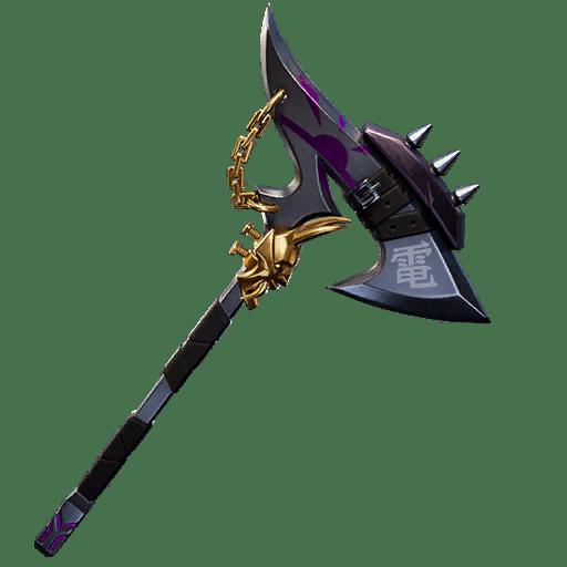 Fortnite v10.30 Leaked Pickaxe - Chained Cleaver