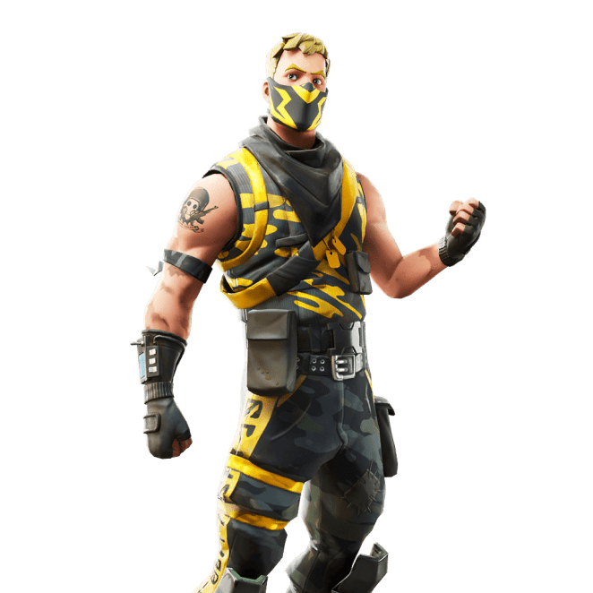 Fortnite v10.40 Leaked Skin - Snakepit