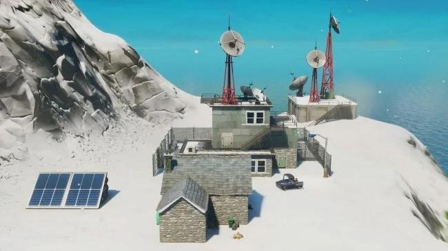 Fortnite Weather Station