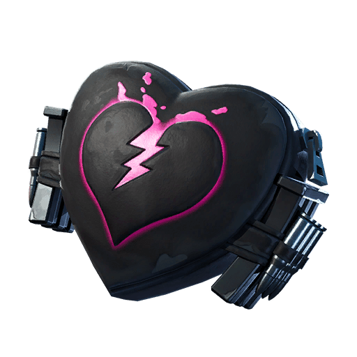 Fortnite v11.00 Leaked Back Bling - Broken Heart
