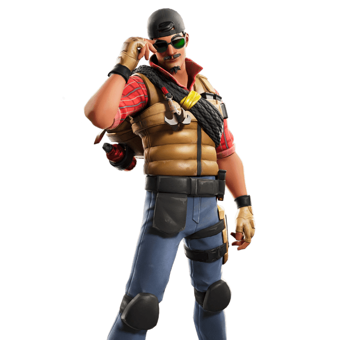 Fortnite v11.00 Leaked Skin - Wrangler