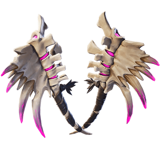Fortnite v11.01 Leaked Back Bling - Dark Dino Bones