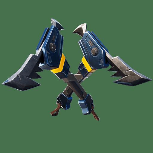 Fortnite v11.10 Leaked Pickaxe - Piranhas