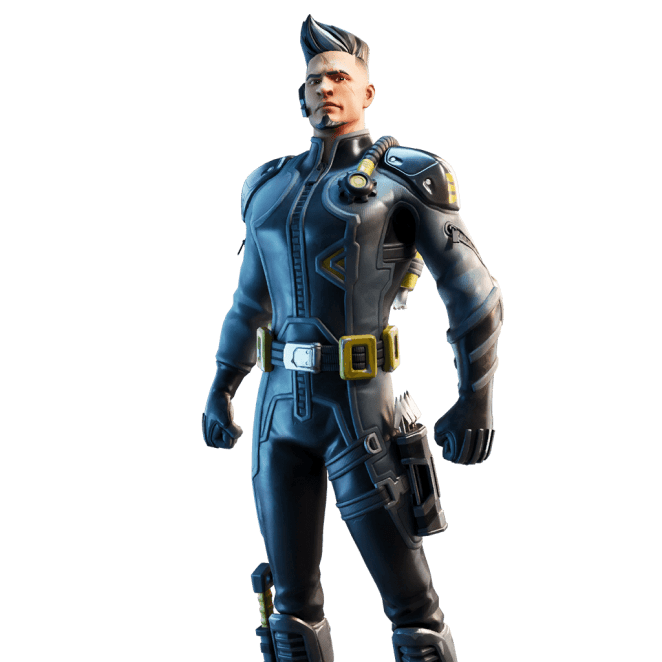 Fortnite v11.10 Leaked Skin - Trench Raider