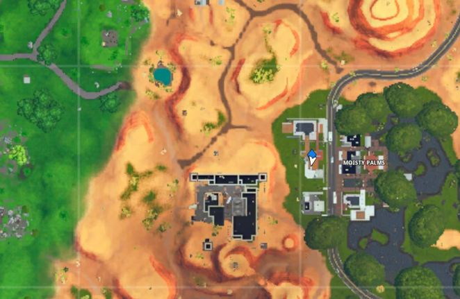 The Visitor Recording Tape Moisty Palms Fortnite Map Location