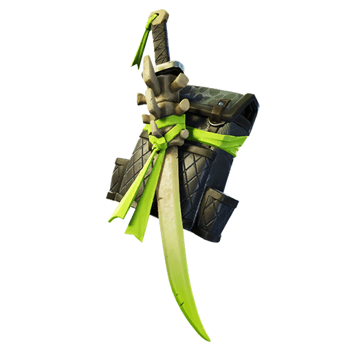 Fortnite v11.20 Leaked Back Bling - Spinal Blade