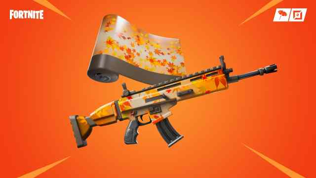 Free Fortnite Falling Leaf Wrap