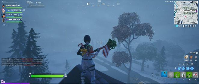 Fortnite Snowstorm Blizzard
