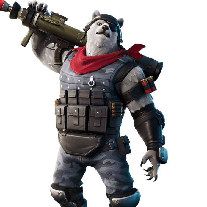 Fortnite v11.30 Leaked Skin - Polar Patroller