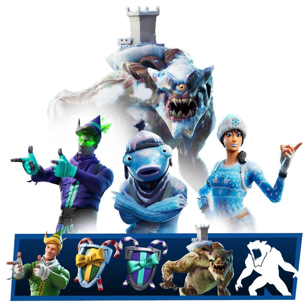 Polar Legends Fortnite Pack