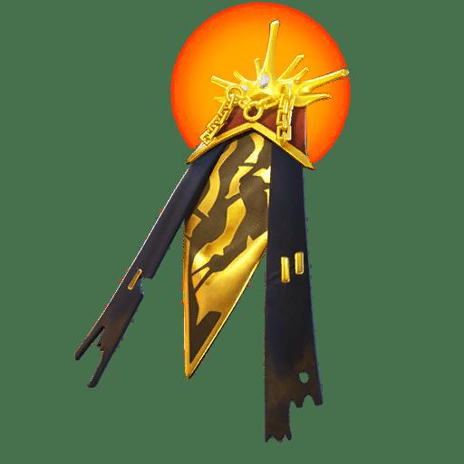 Fortnite v11.40 Leaked Back Bling - Radiant Mantle