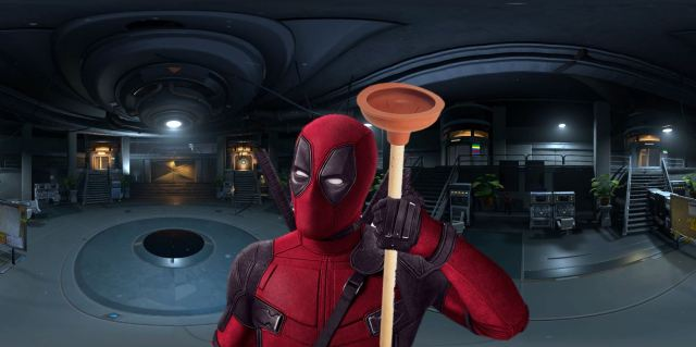 Deadpools Toilet Plunger
