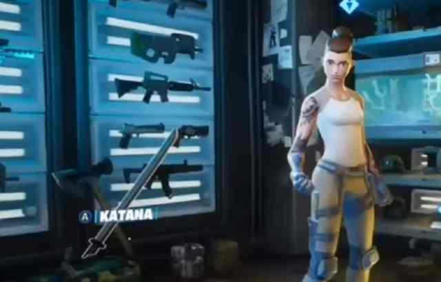 Find Deadpool's Katana 1