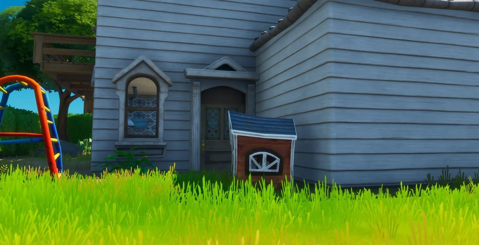 Fortnite Dog Houses