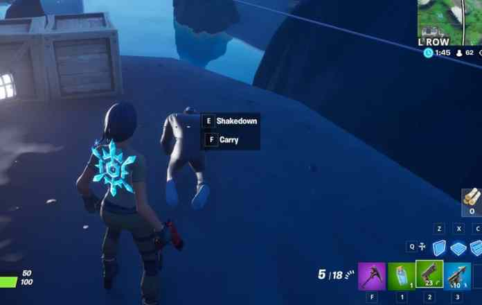 Fortnite: Shakedown o Carry Henchman