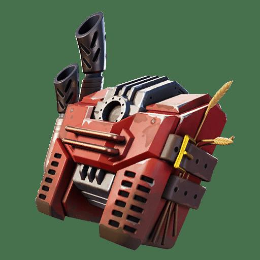 Fortnite v12.10 Leaked Back Bling - Heavy Harvester