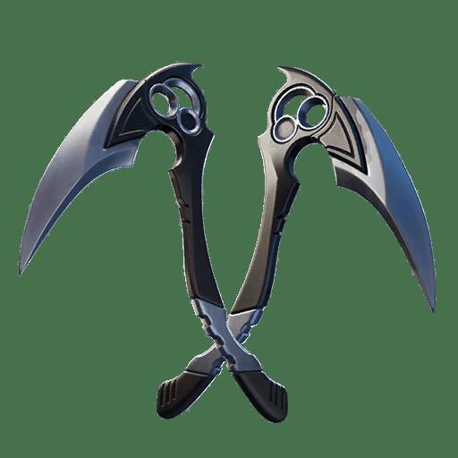 Fortnite v12.10 Leaked Pickaxe - Inversion Blades