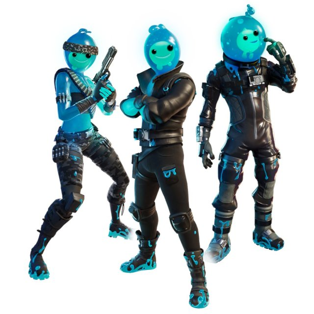 Slurps Legends Fortnite Reactive Heads