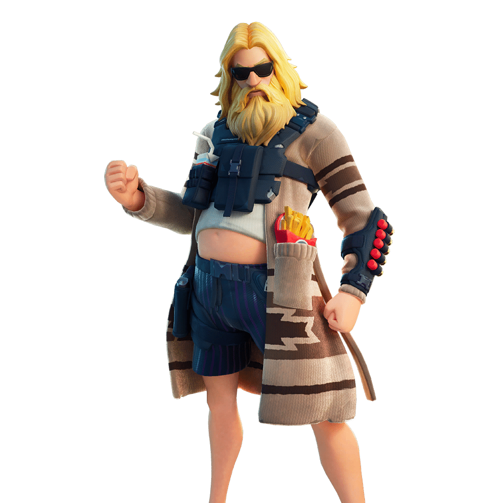 Dad Bod Jonesy Fortnite skin