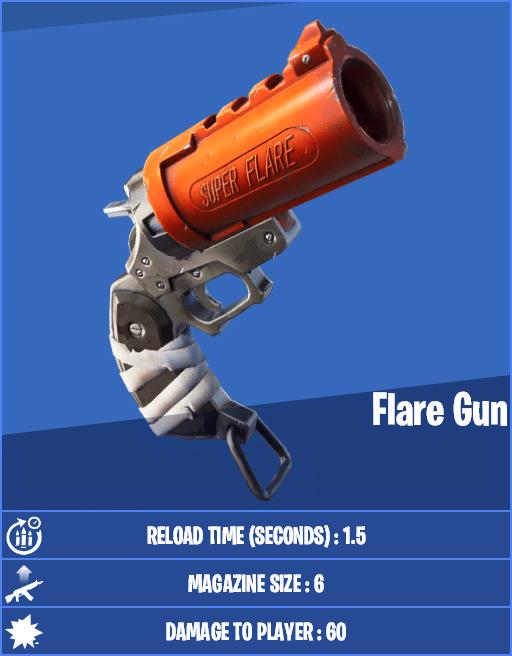 Flare Gun Fortnite Stats