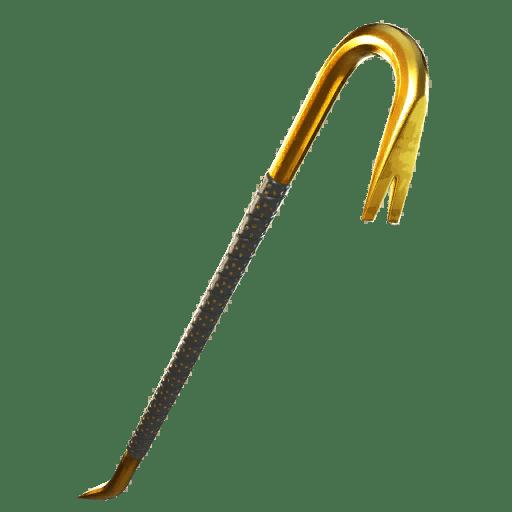 Fortnite v13.20 Leaked Pickaxe - Gold Crow