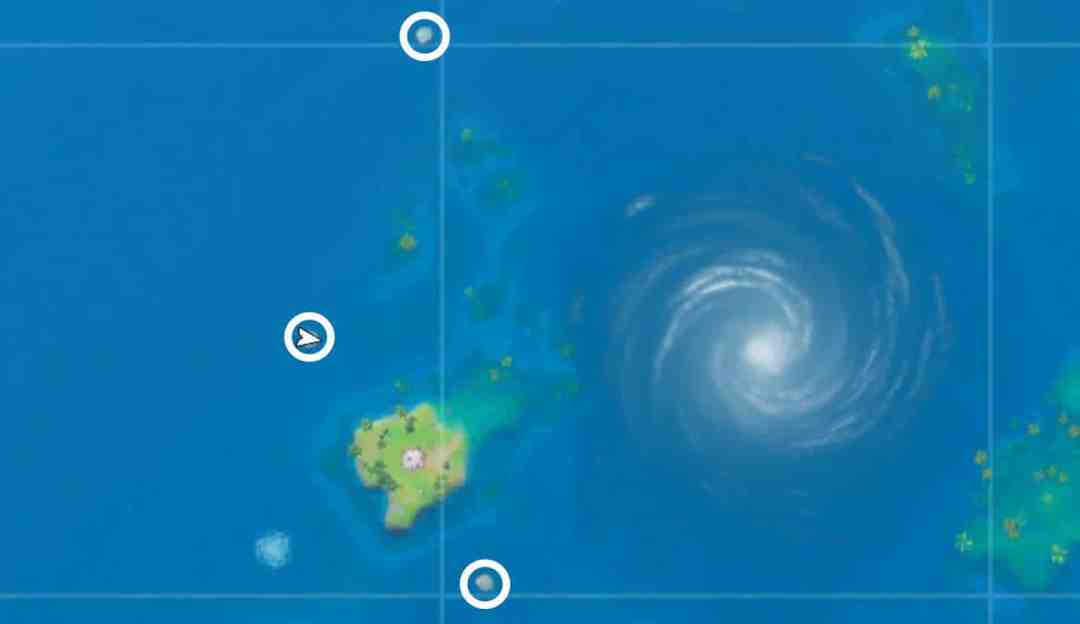 fortnite trident locations