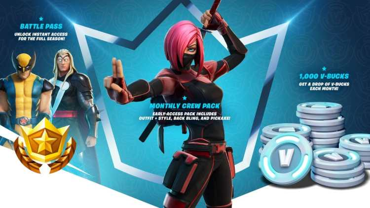 Fortnite New Subscription Pack