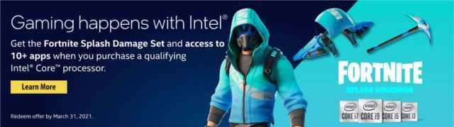 Intel Fortnite Offer