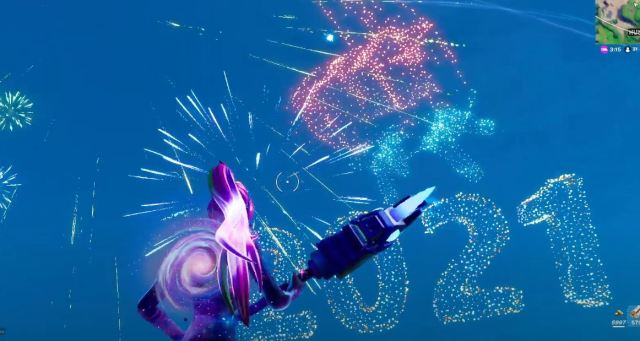 Fortnite New Years event 2021